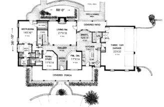 Greencreek Early American Home Plan House Plans More