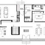 Ground Floor Plan House Hidalgo Mexico Bitar Arquitectos