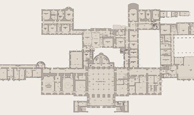 Ground Floor Plans Show House Has Astonishing Number Rooms