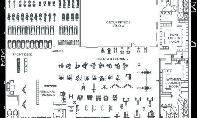 Gym Floor Plan Layout Top Room Pinterest Tattoos