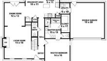 Half Story Bedroom Bath Traditional Style House Plan