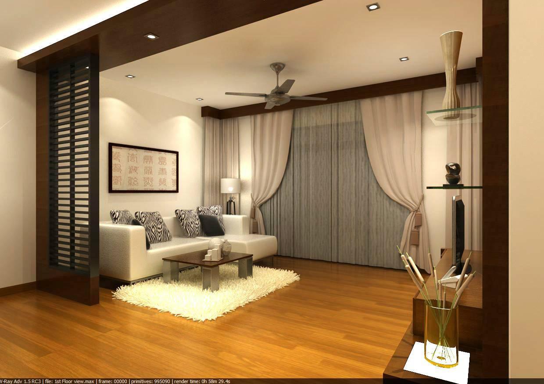 Hall Interior Design Johor Bahru - Home Building Plans #45999 - ^