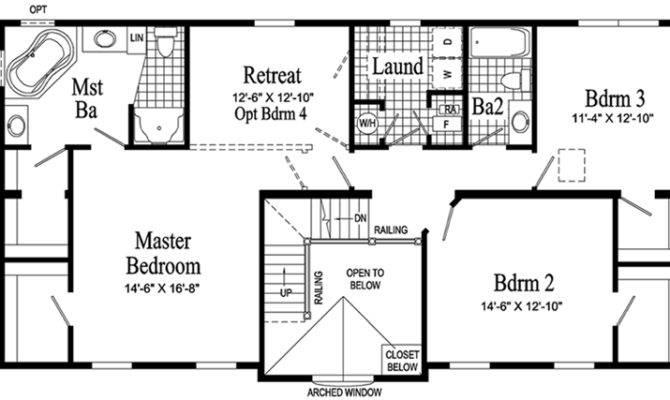 Hamilton Model Second Floor Plan