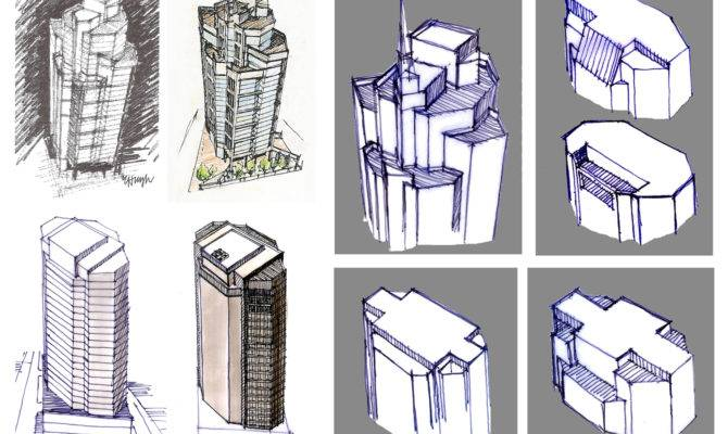 Hand Conceptual Architectural Drawing Sketchingjourney Blog