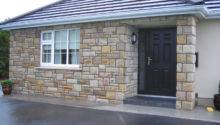Have Carried Out Stone Facing Porches All Over Ireland Here