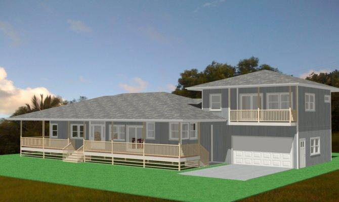 Hawaiian Plantation Style House Plans