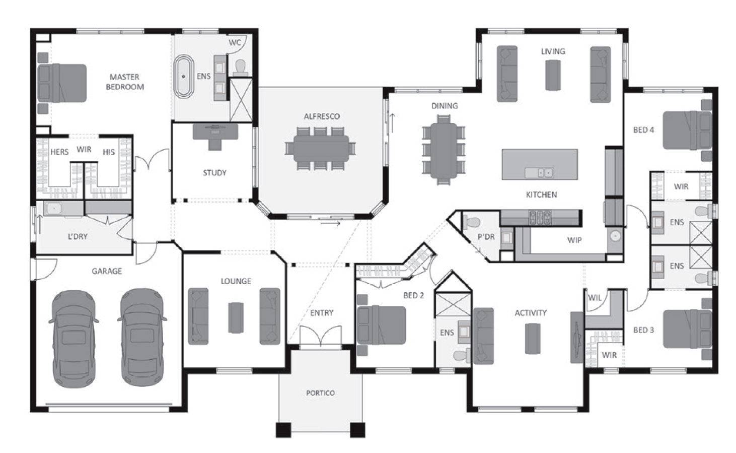 Multi Family Compound Floor Plans Family Free Download