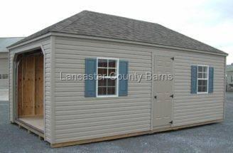 Hip Roof Garage Weatherwood Architectural Shingles