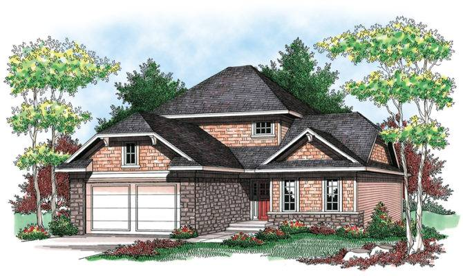 Hip Roof House Plan