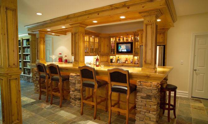 Home Bar Plans Build Design