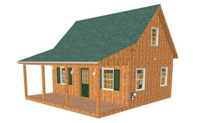 Home Cabin Plans Adirondack Loft Part Number