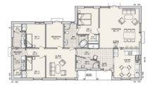 Home Design Plans One Floor Modern