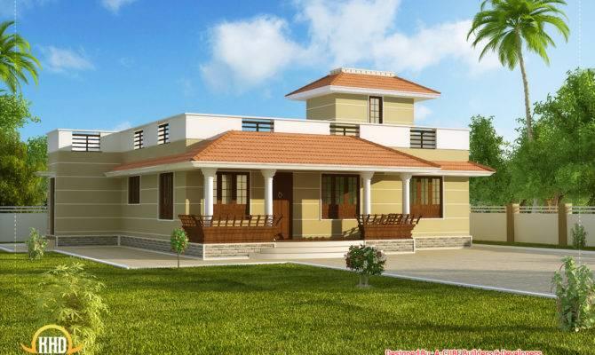 Home Design Single Floor Low Cost Beautiful Story Kerala Model