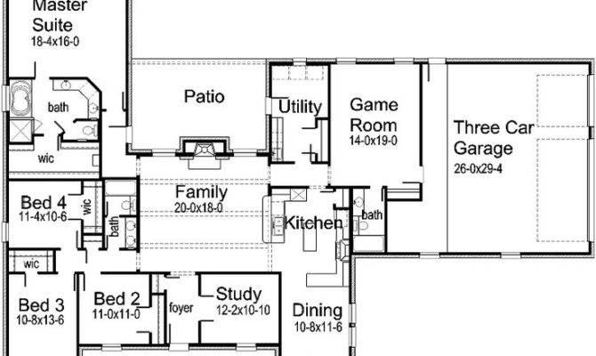 ranch floor plans with bonus room over garage house one story house plans house plans with bonus room over