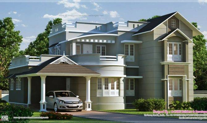 Home Exterior Feet Kerala Design Floor Plans