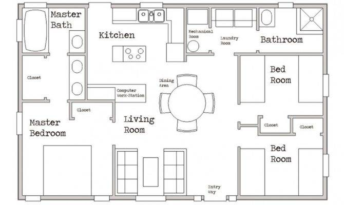 Home Floor Plans Small Under