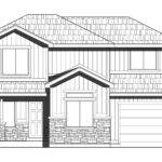 Home Multi Level Two Story Plan