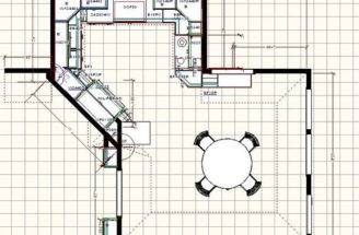 Home Plans Big Kitchens Dream Source Kitchen