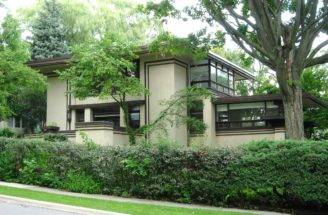 Home Plans Frank Lloyd Wright Style Studio Architecture