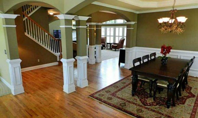 Home Spotlight Open Floor Plan Finished Basement Car Garage