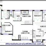 Homes Steel Kit Floor Plans Bedroom House