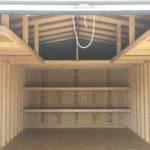 Horse Shoe Loft Shelving Package Storage Barn Garage