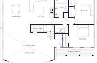 House Blueprints Impending