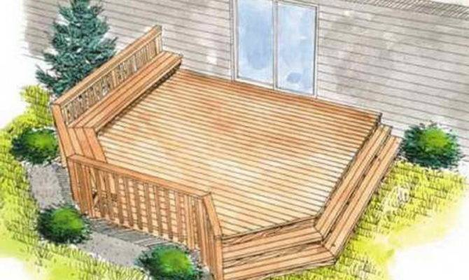 House Deck Plans Find Right Simple Design