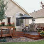 House Deck Plans Railing Designs Builder Decks