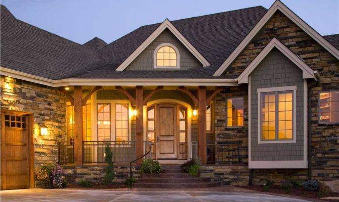 smart placement wood and stone house plans ideas home