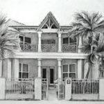 House Drawing Art Mary Sheats