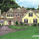 House Drawing Color Drawings