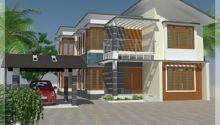 House Elevation Floor Plan Architecture Plans