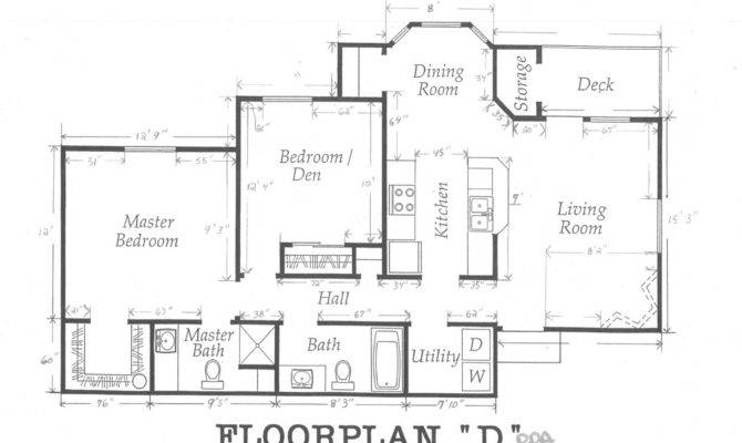 House Floor Plan Measurements Apartment Plans