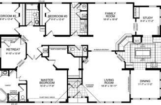House Floor Plans Bedroom Bath