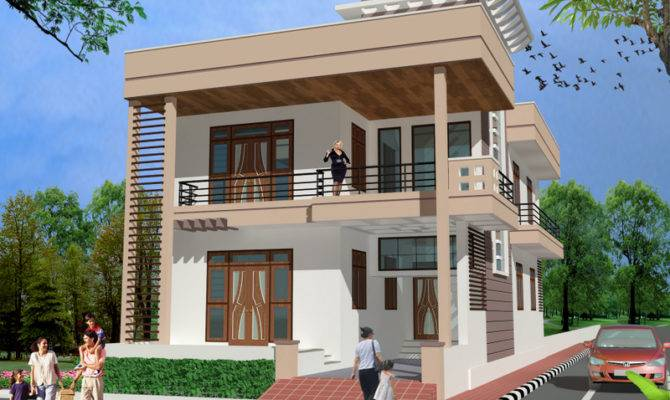 House Front Home Elevation Design India