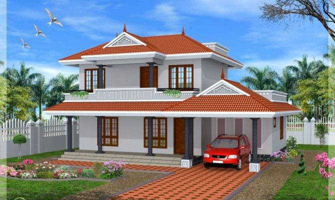 House Kerala Architecture Home Plans Luxury Flat Roof Design
