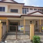 House Malaysia Two Storey Townhouse Taman Bukit Cheng Melaka