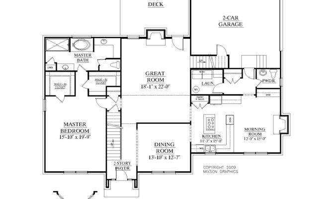 House Plan Ballentine First Floor