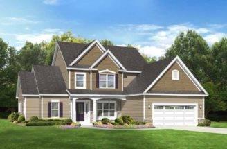 House Plan Country Farmhouse Spacious First Floor Master
