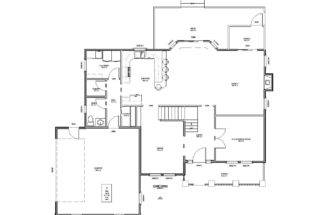 House Plan Sqft Bedroom Bath Traditional