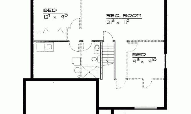 House Plan Two Bedroom Cottage Square Feet Bedrooms