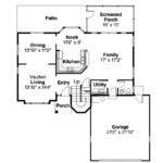 House Plan Villa Real Left Elevation Southwest