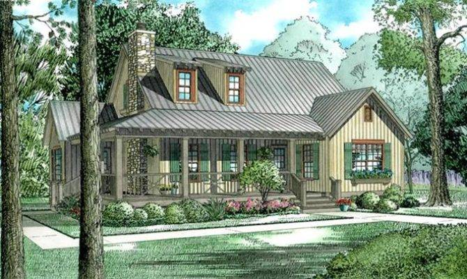House Plan Without Garage Rustic Style Story
