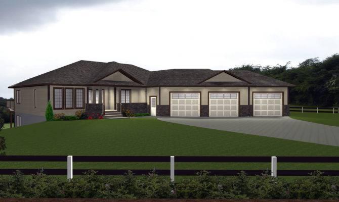 House Plans Car Attached Garage Designs