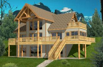 House Plans Country Lake Mountain Home