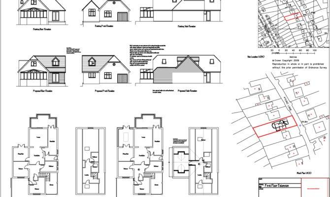 House Plans Design Dormer Bungalow