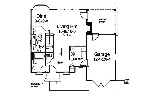 House Plans English Cottage Vacation