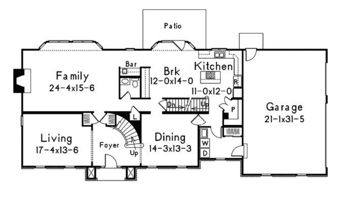 House Plans Georgian Traditional More