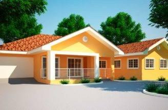 House Plans Ghana Jonat Bedroom Plan